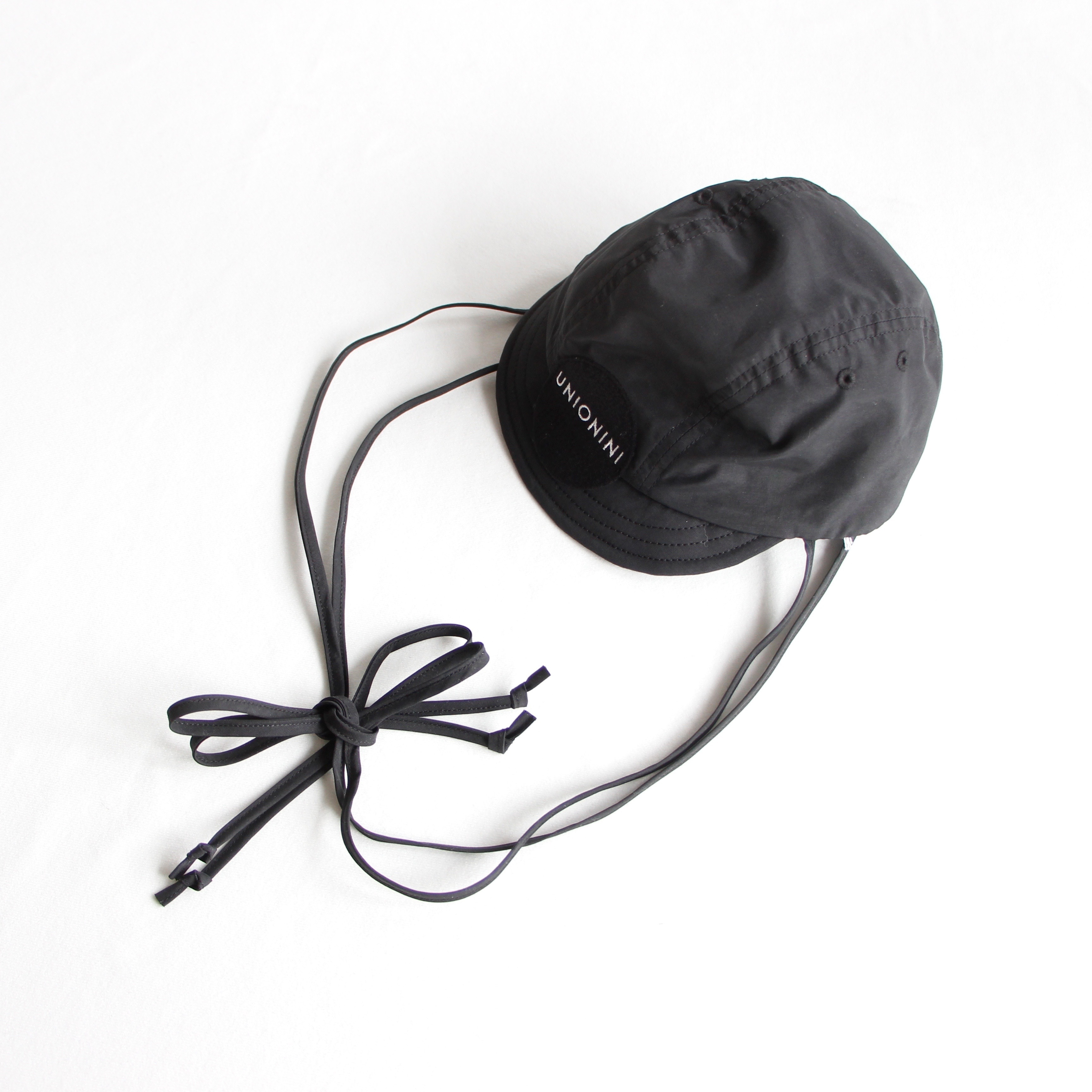 《UNIONINI 2020SS》cycling cap / black