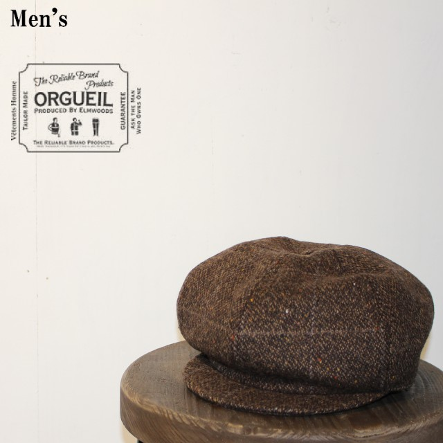 ORGUEIL/オルゲイユ  Casquette(BROWN) OR-7049 【Men's】