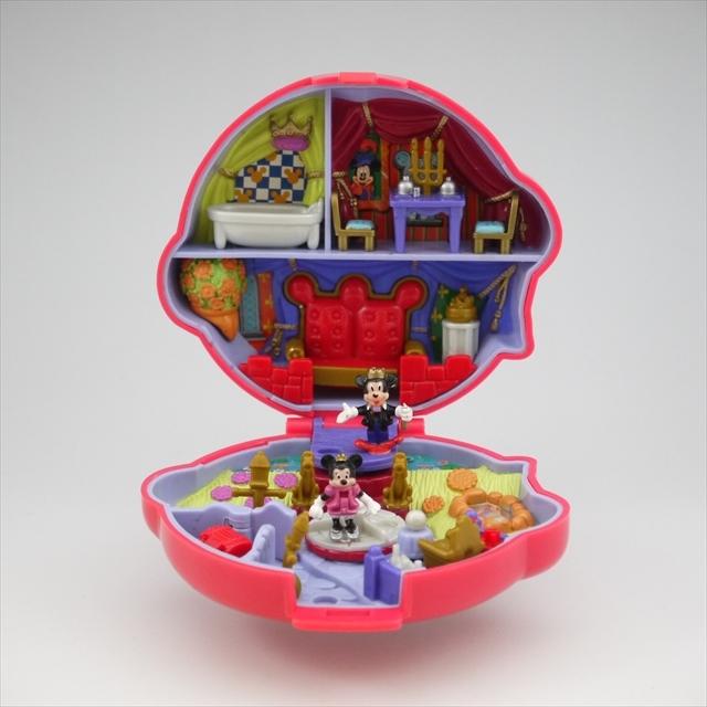 ディズニー ミッキーとミニーのコンパクト 完品