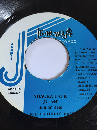 Junior Reid(ジュニアリード) - Shack-A-Lack【7'】