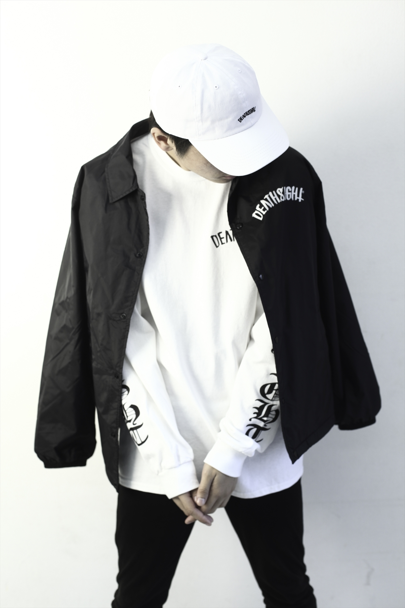 """deathsight""Low Cap / WHITE - 画像3"