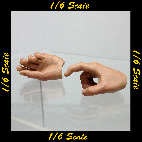 【01111】 1/6 DamToys ハンド 素手