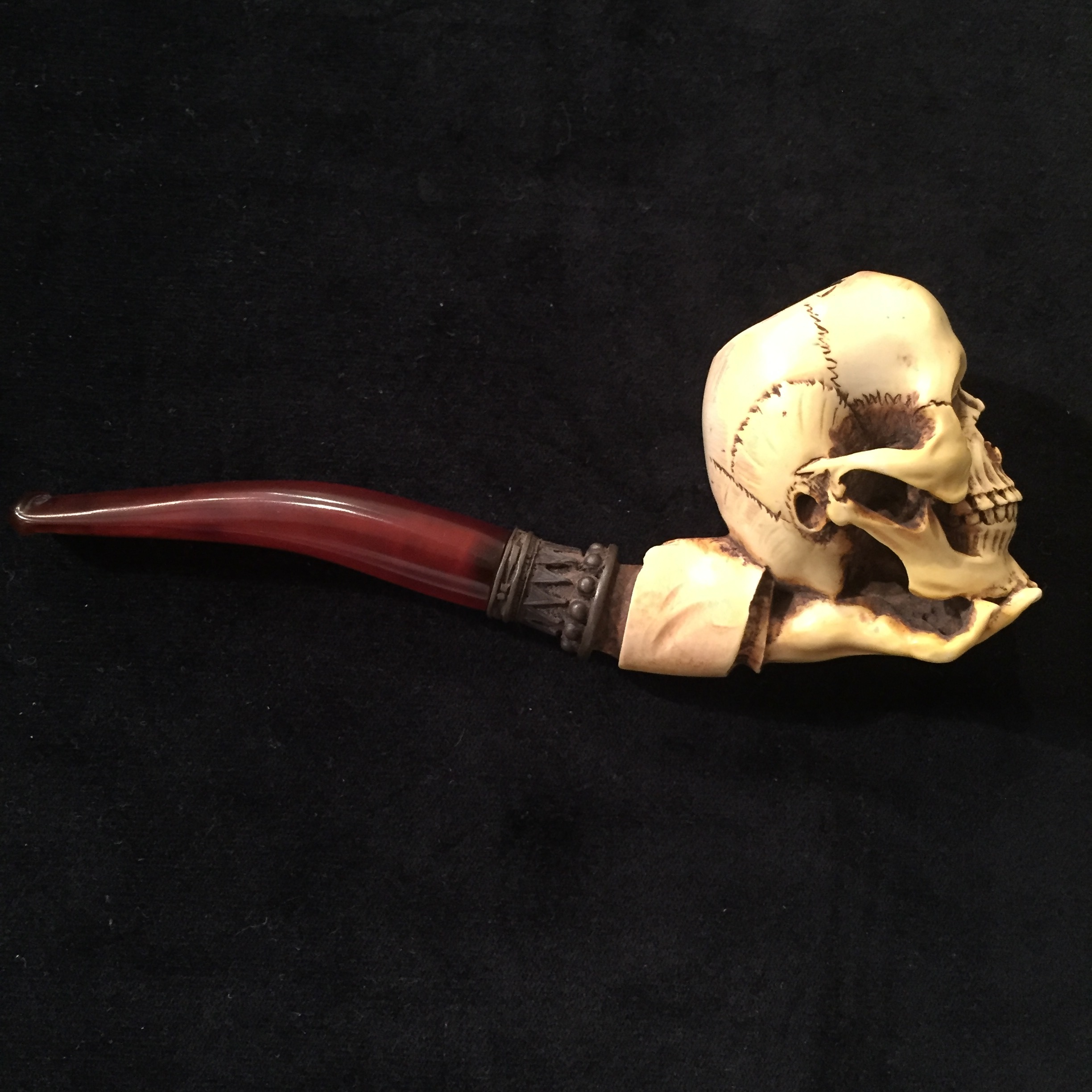 Antique French Meerschaum Pipe
