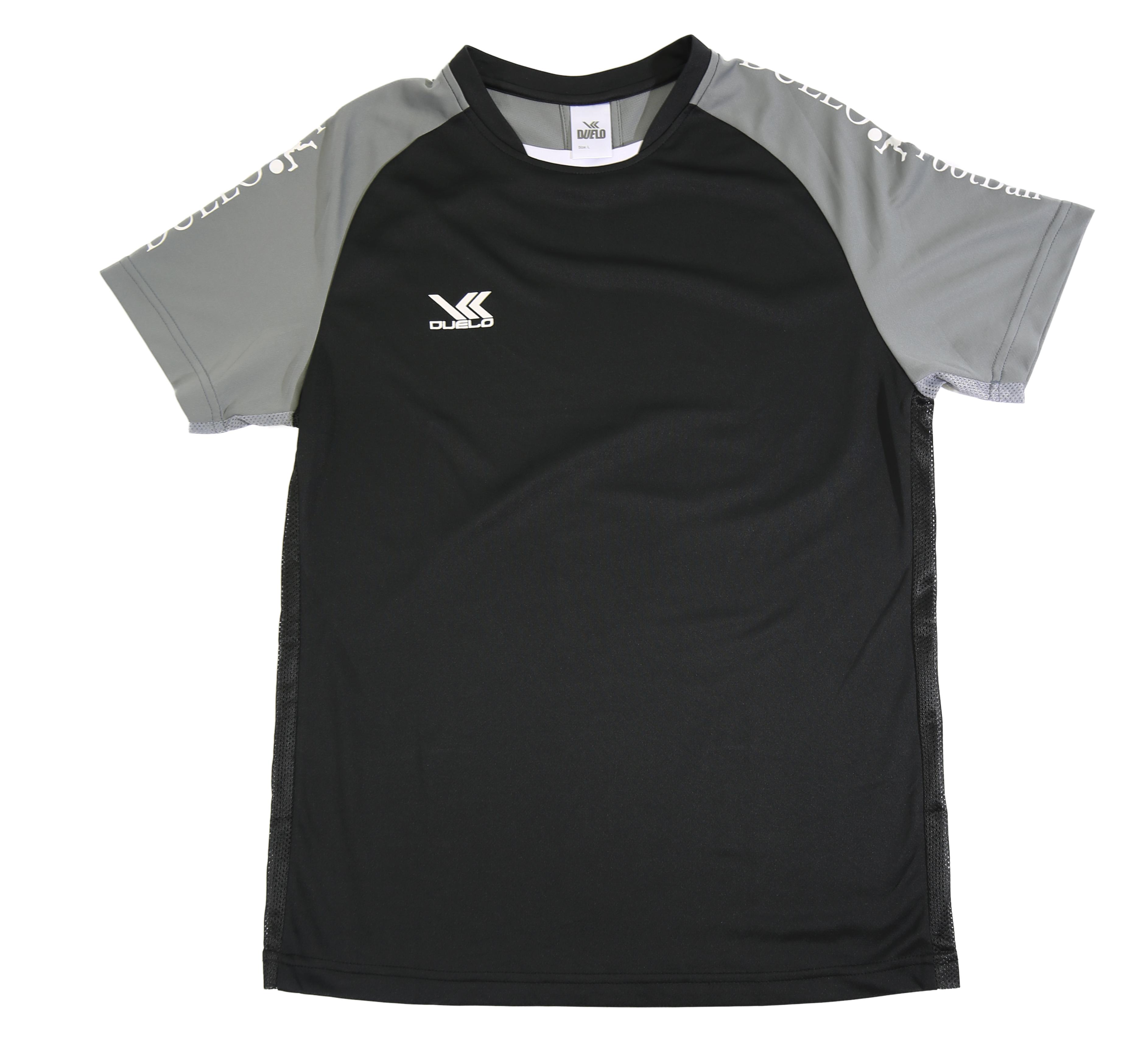 D-032 S/S Practice Shirt  BLK/GRY