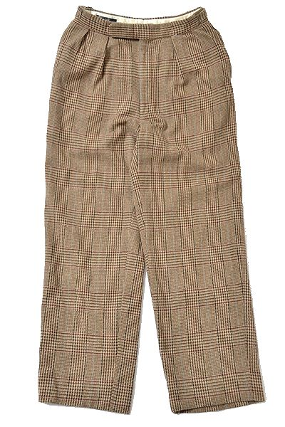 Ralph Lauren sizeabout68 made in USA pants/tweed vintage