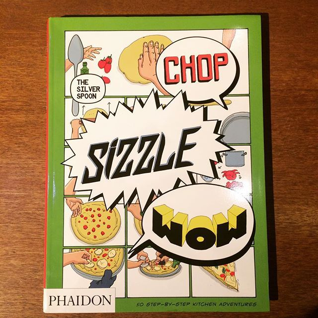 食の本「Chop, Sizzle, Wow: The Silver Spoon Comic Cookbook」 - 画像1