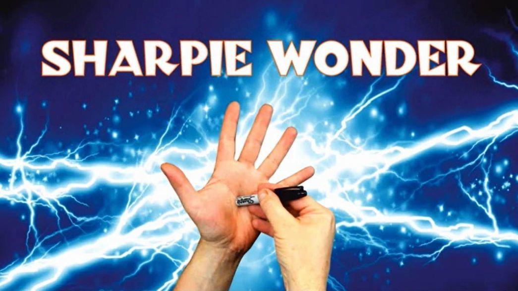シャーピーワンダー 1本で10種類のマジックができるシャーピー