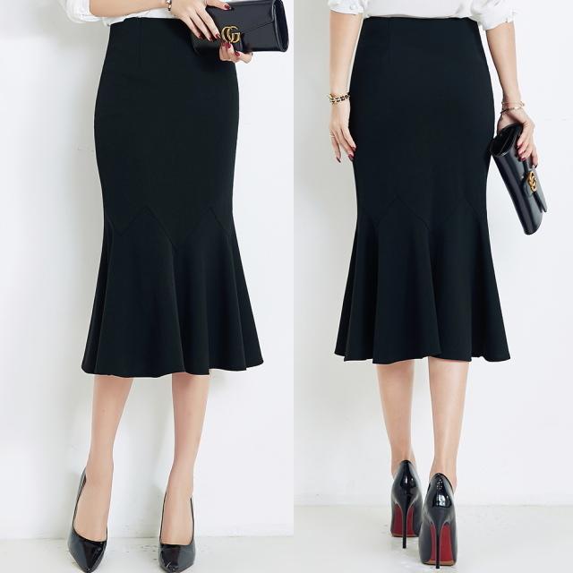 ブラック マーメイドスカート