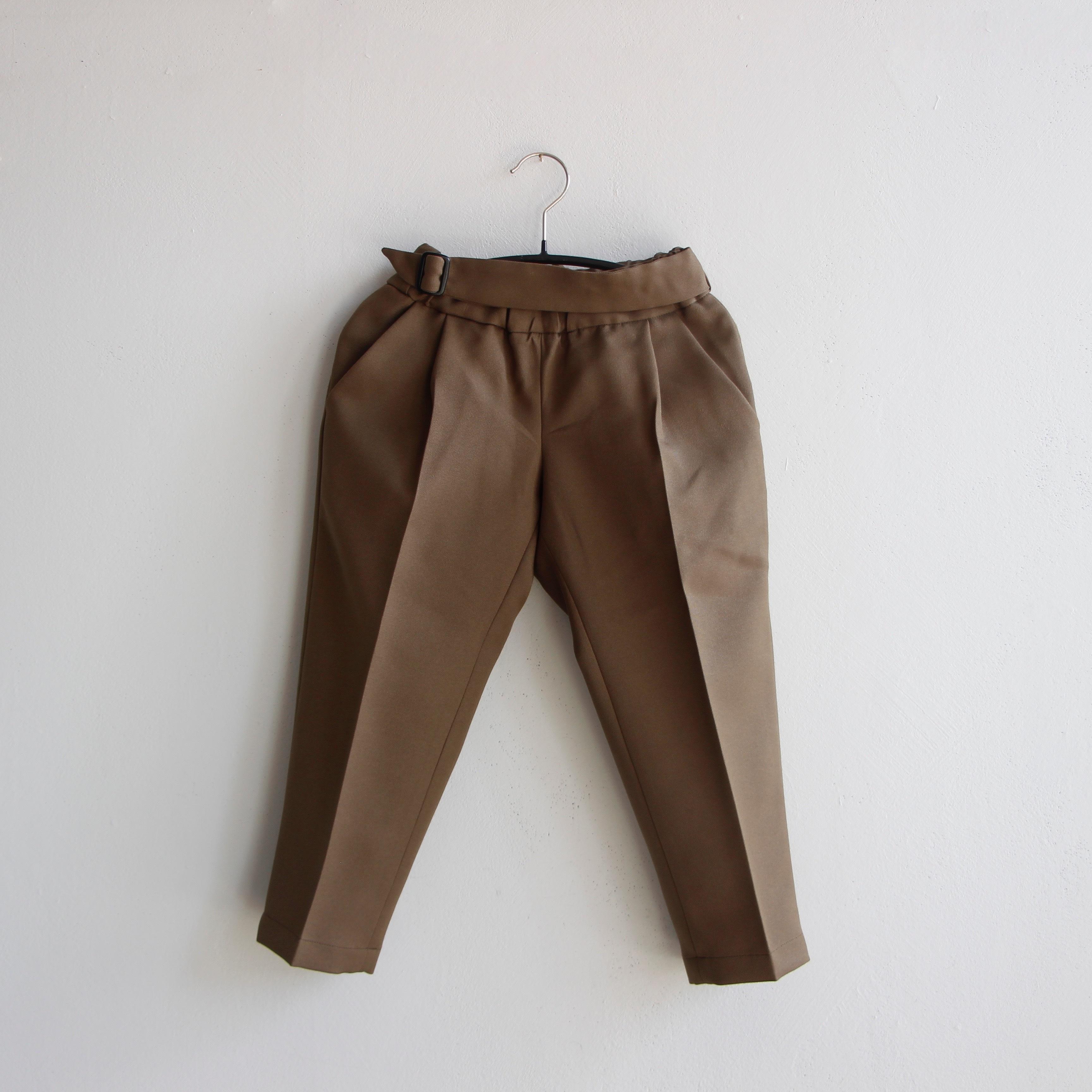 《MOUNTEN. 2020AW》stretch twill pants / khaki