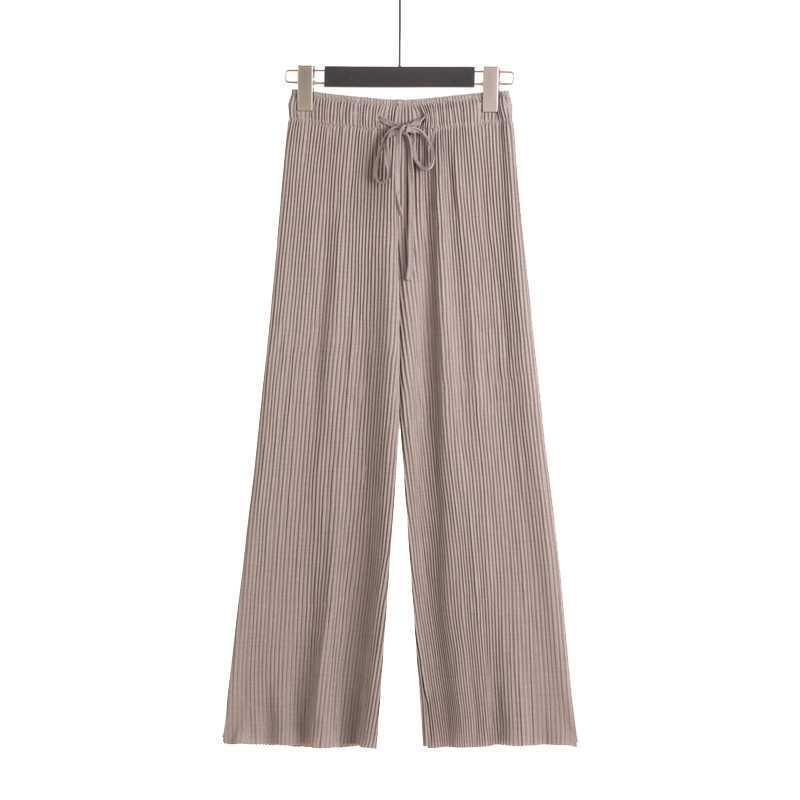 シンプルカラープリーツパンツ 【simple color pleats pants】