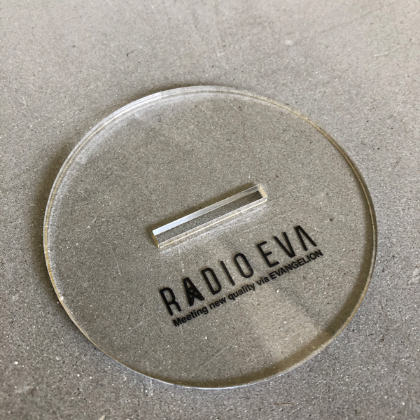 EVASTOREオリジナル RADIO EVA アクリルスタンド_第3弾レイ / EVANGELION エヴァンゲリオン