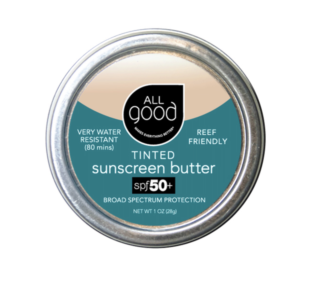 【ALL GOOD】オールグッド ティントサンスクリーンバター spf 50+  TINTED SUNSCREEN BUTTER 日焼け止め