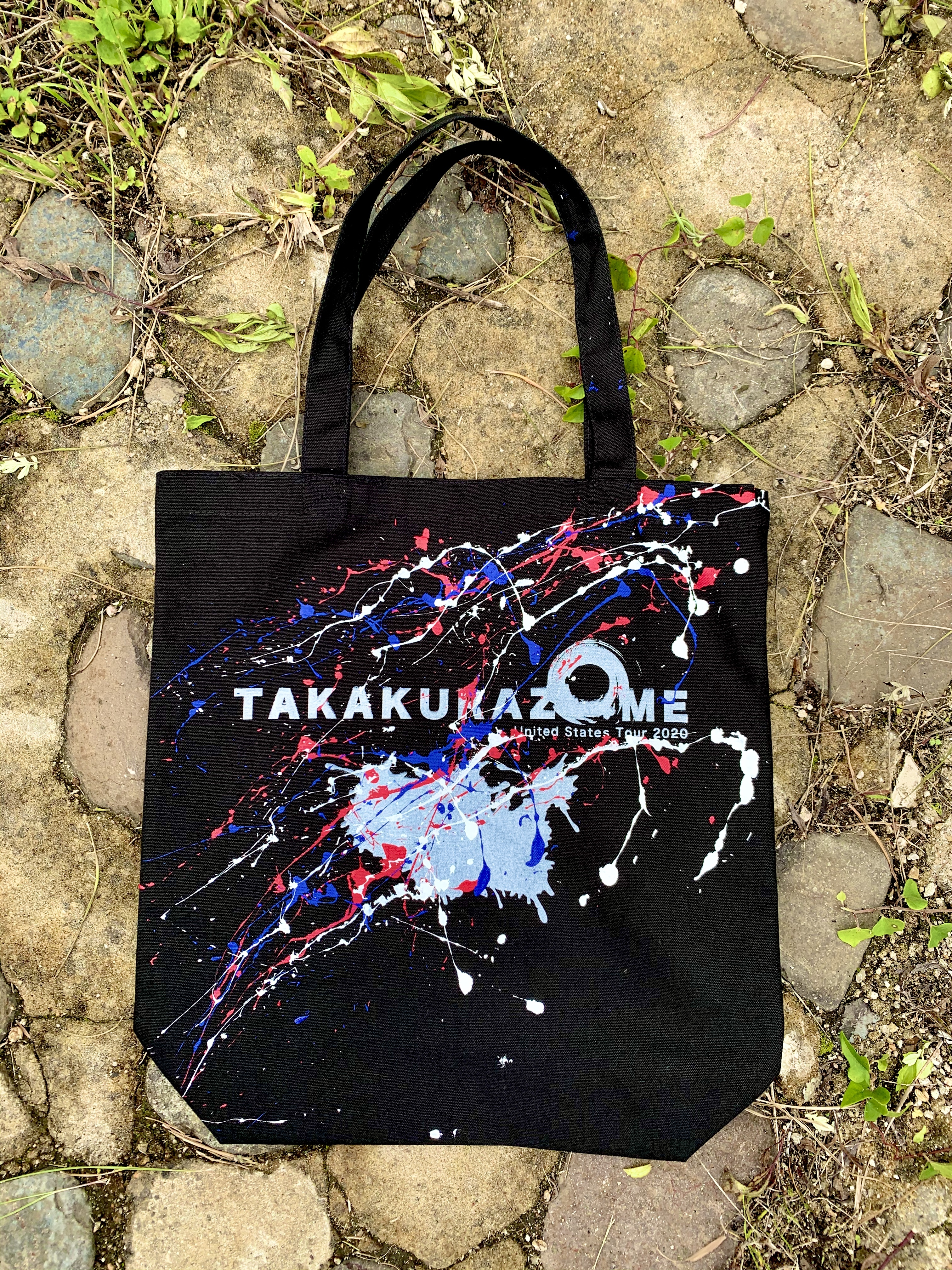 TAKAKURAZOME USツアートートバッグ(黒)