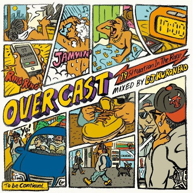 [MIX CD] V.A. / OVER CAST mixed by DJ KURONEKO