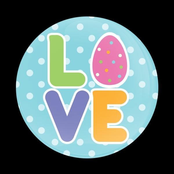 ゴーバッジ(ドーム)(CD0919 - Seasonal EASTER LOVE) - 画像1