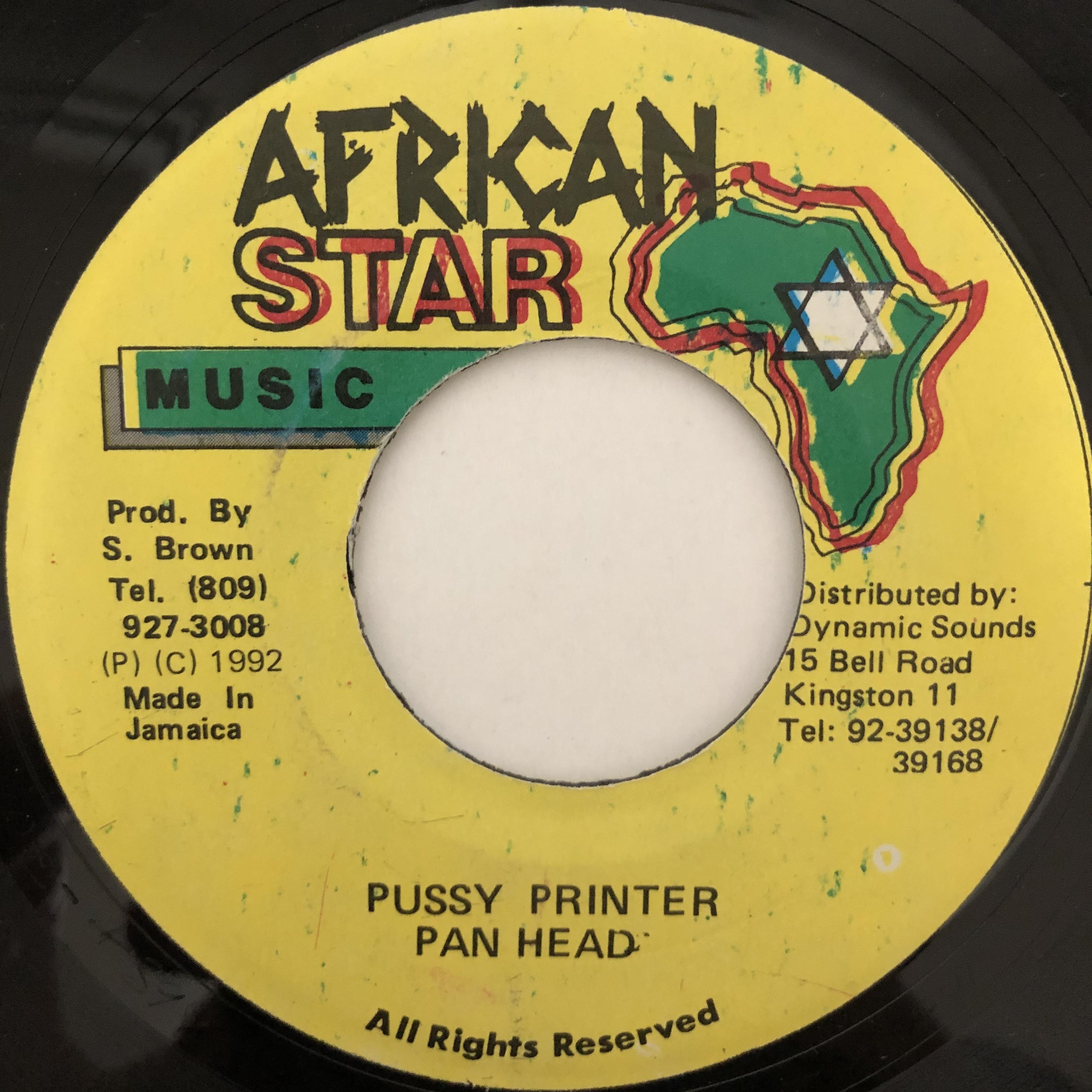 Pan Head - Pussy Printer【7-20470】