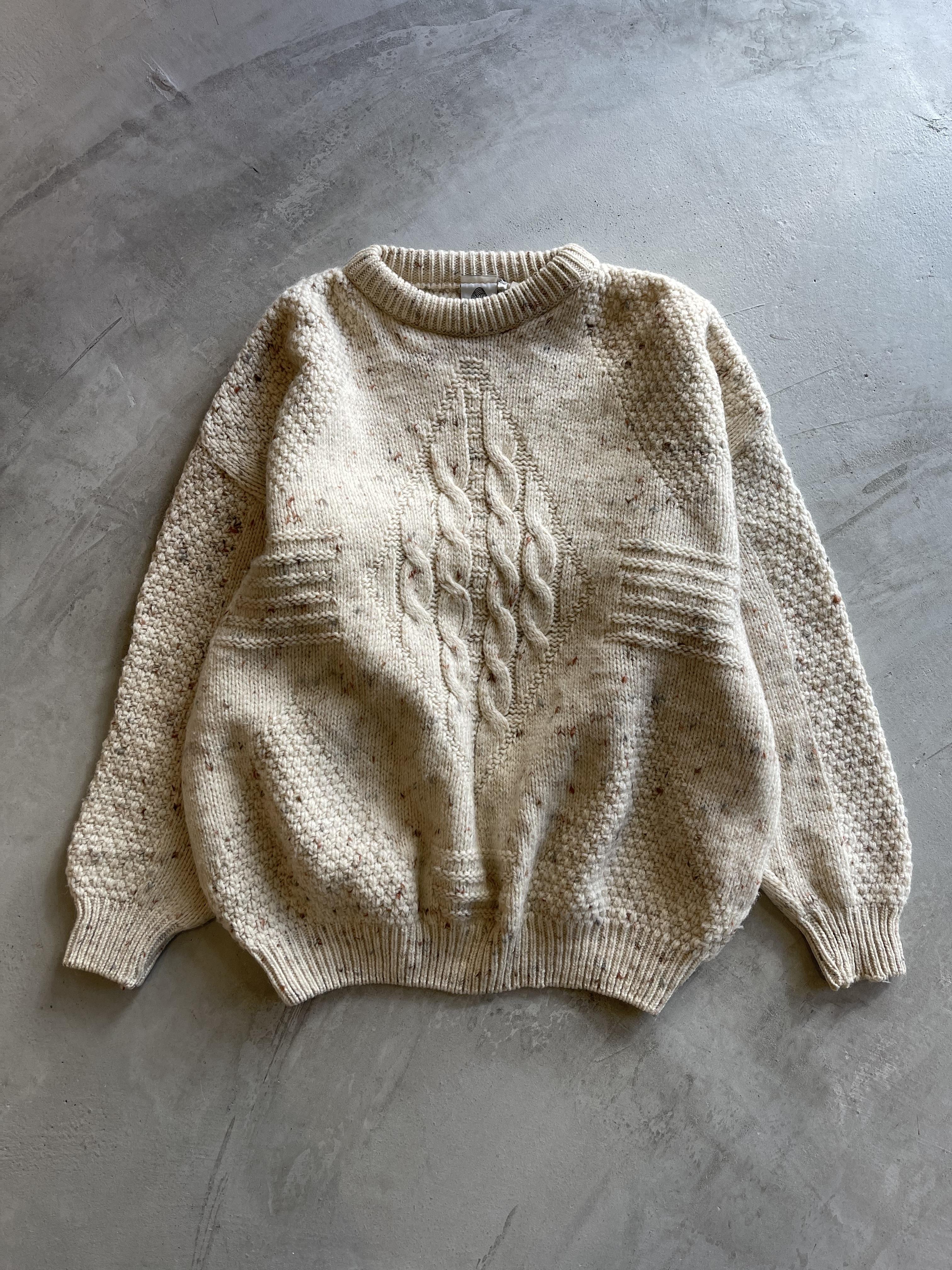 vintage aransweater - gomashio -