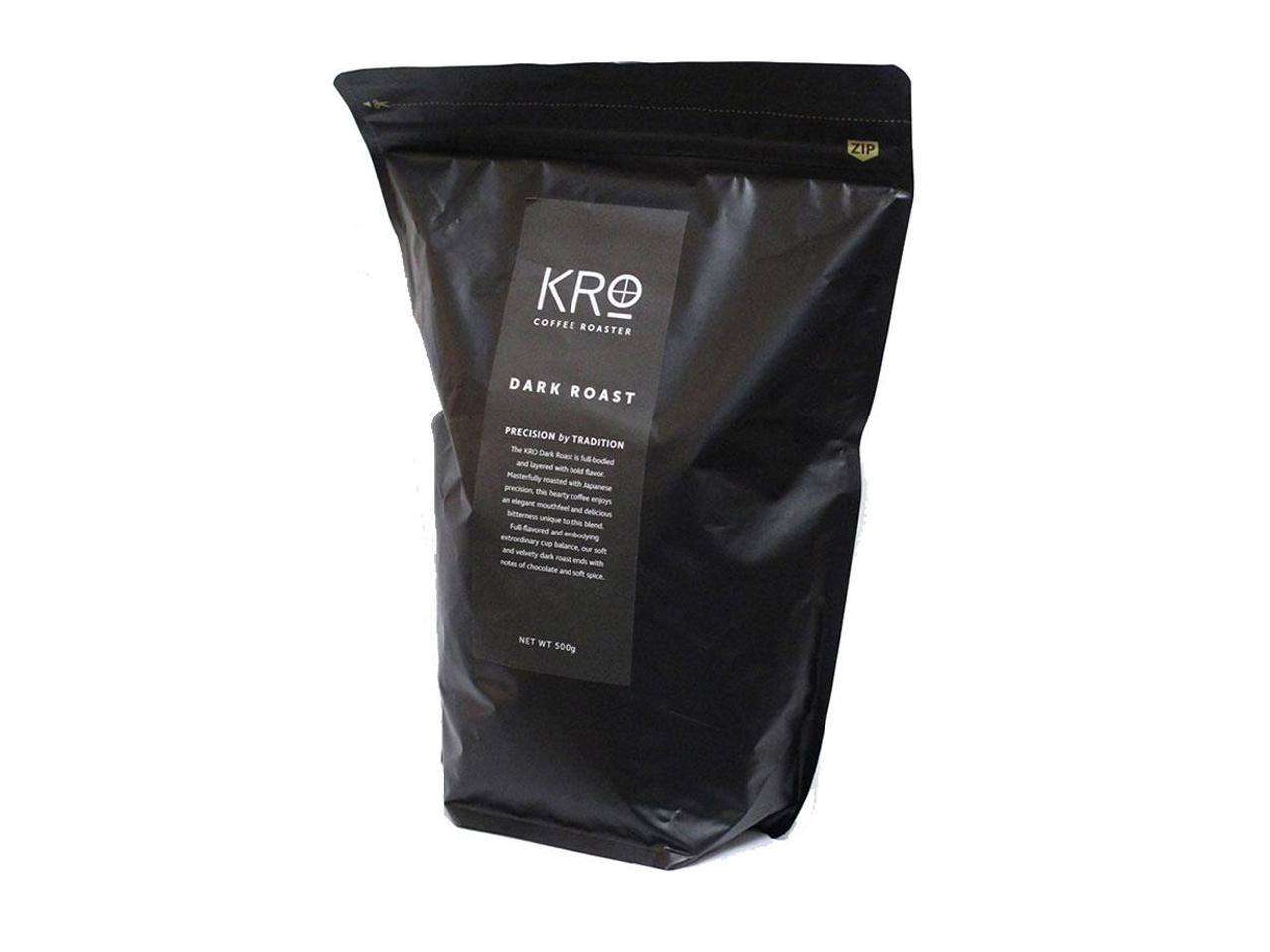 KROプレミアム ダークロースト コーヒー豆  500g