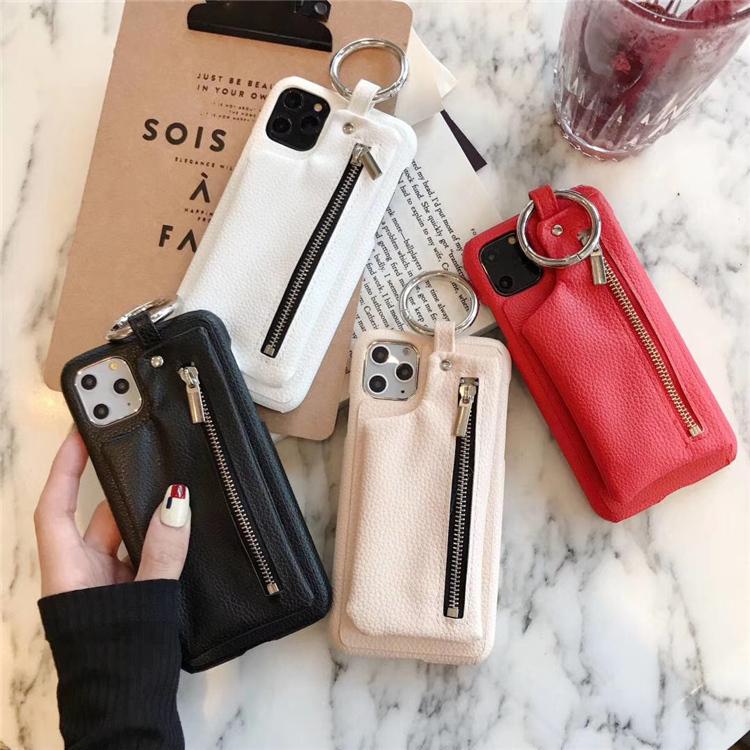【お取り寄せ商品、送料無料】4カラー 財布ケース バンカーリング iPhoneケース iPhone11