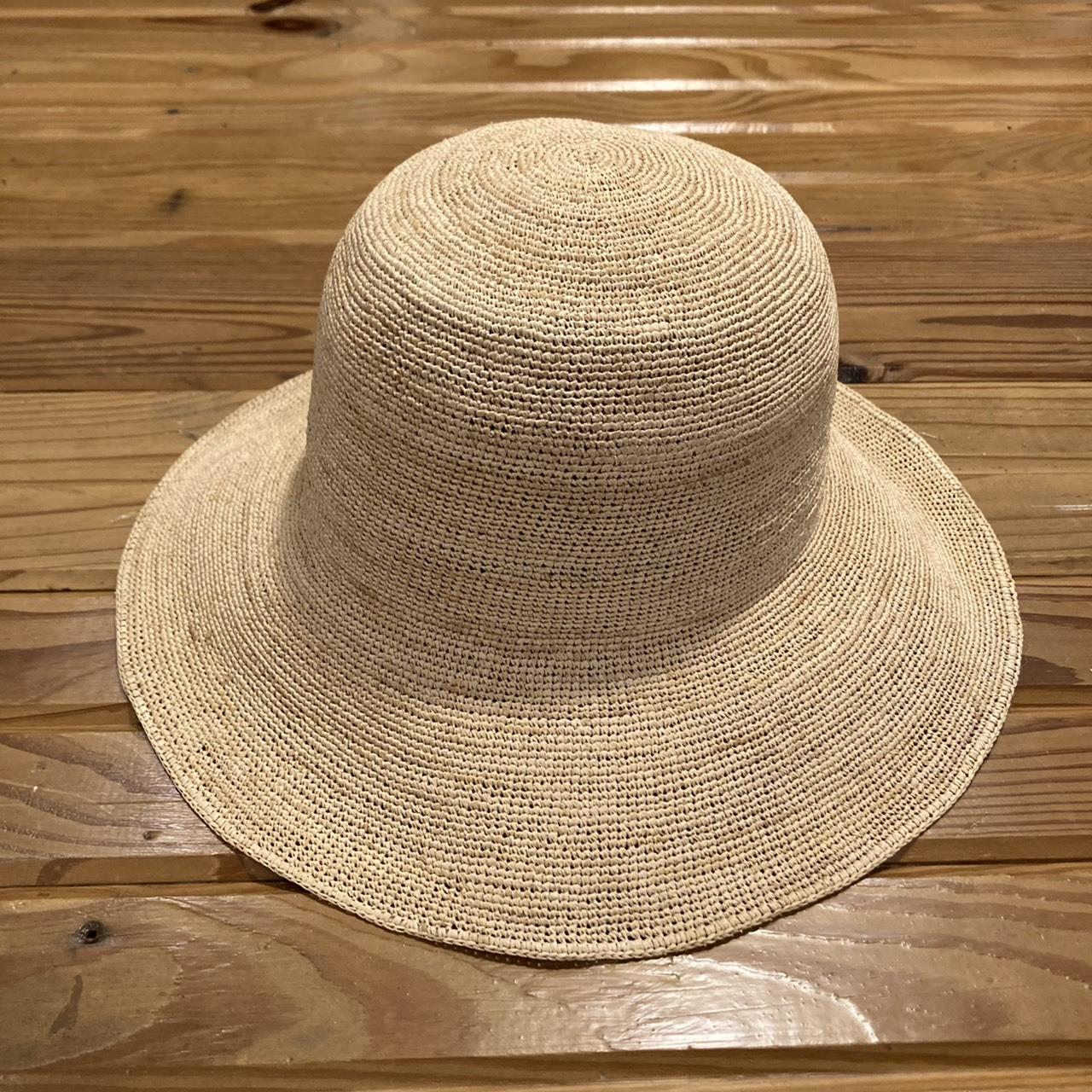 MARIHOJA #Weave Raffia Flat Wave Hat