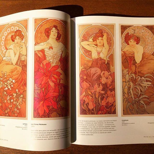 アルフォンス・ミュシャ画集「Alphonse Mucha」 - 画像2