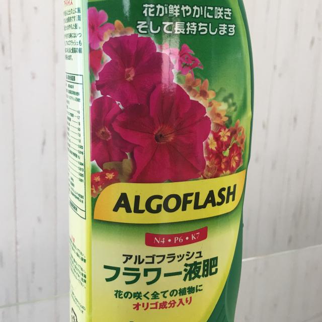 アルゴフラッシュフラワー液肥1ℓオゼジュン先生イチオシ!液体肥料 - 画像5