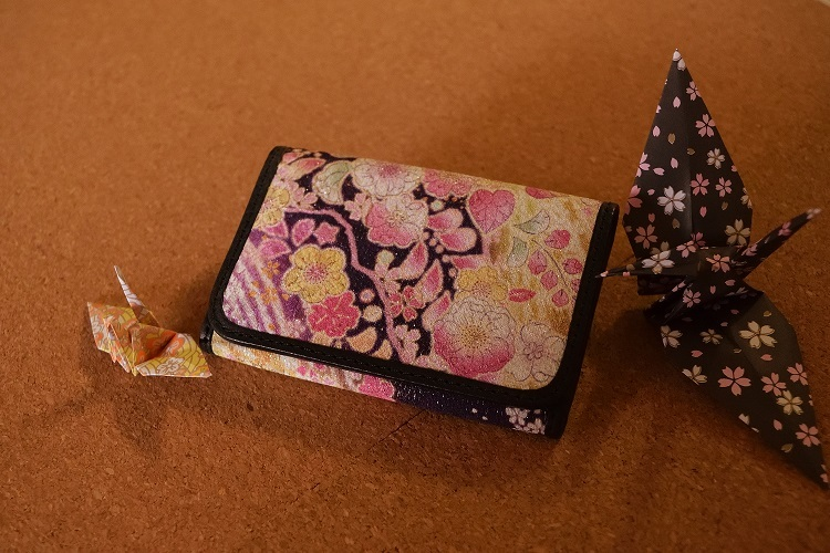 春爛漫名刺ケース『Carte~和柄レザーミックス~』
