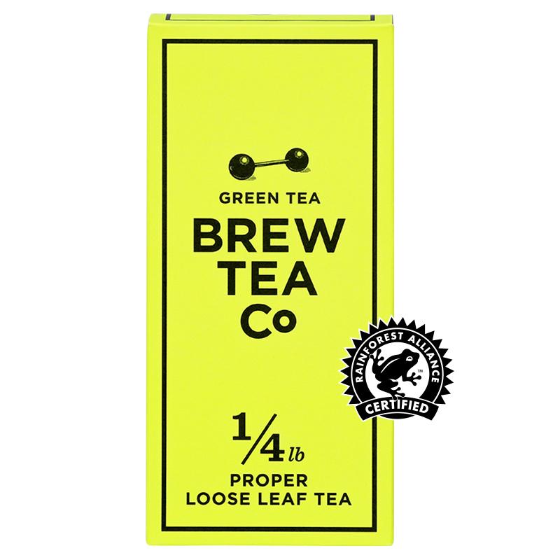 BREW TEA Co. ブリューティーカンパニー leaf tea 茶葉 113g 箱入り Green Tea グリーンティー