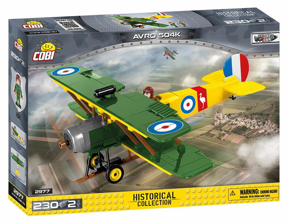 COBI #2977 アブロ 504K 訓練機