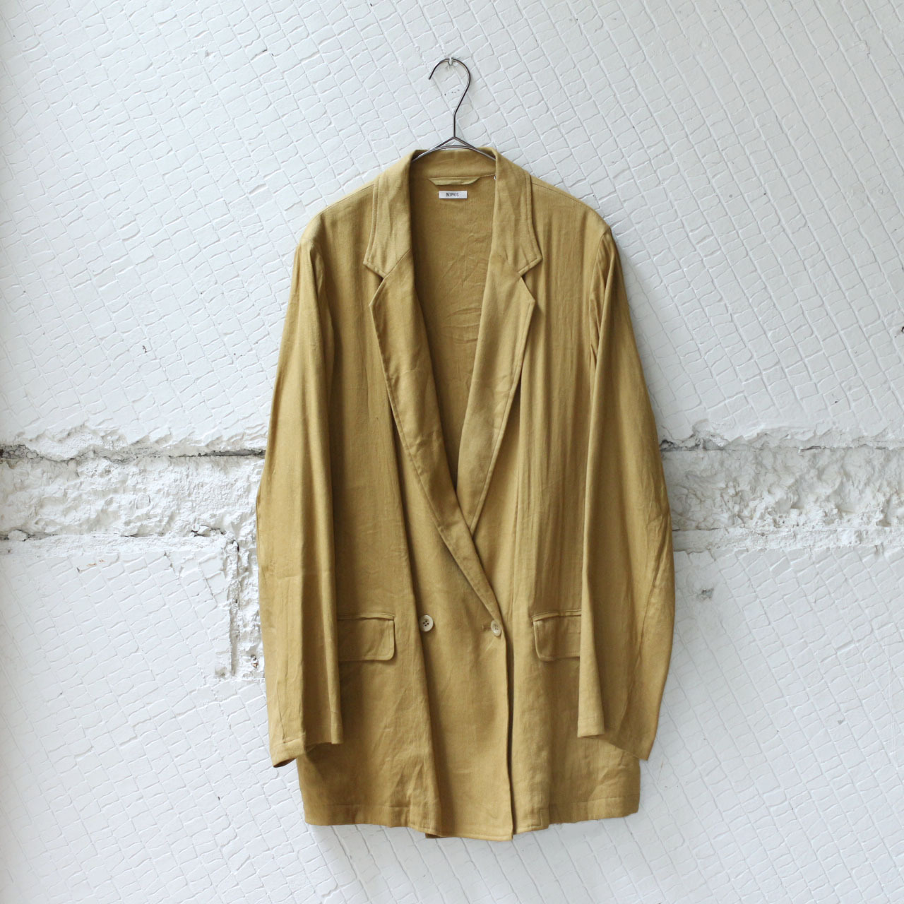 【nowos】 TWILL JACKET