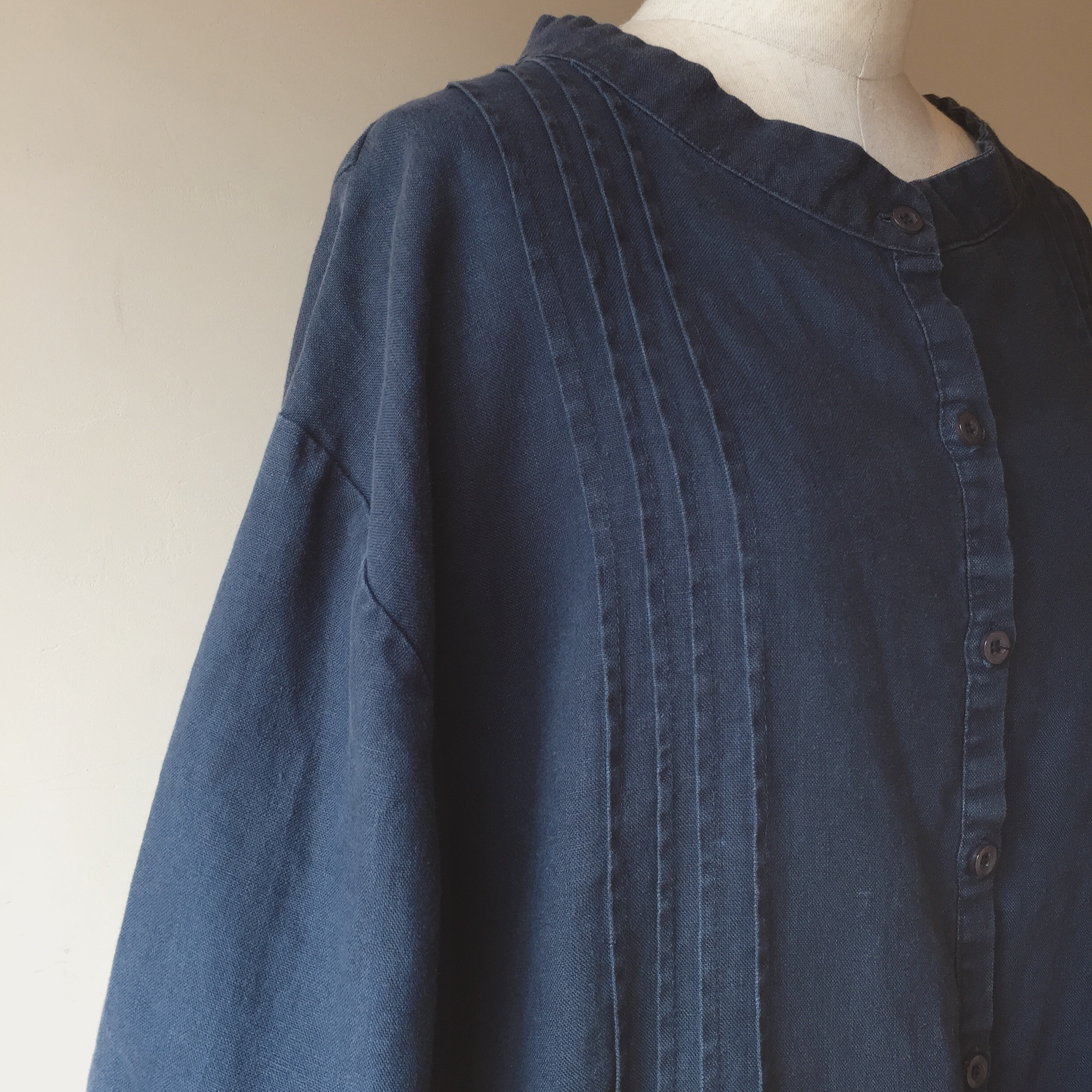 vintage over sized linen onepiece