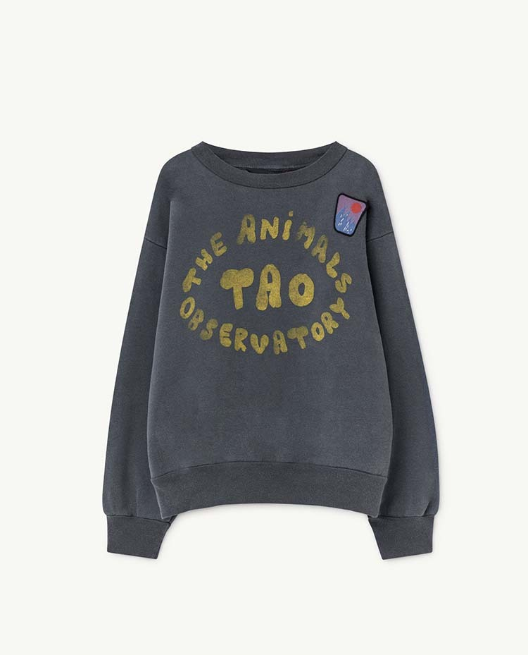 the animals observatory  BEAR KIDS+ SWEATSHIRT