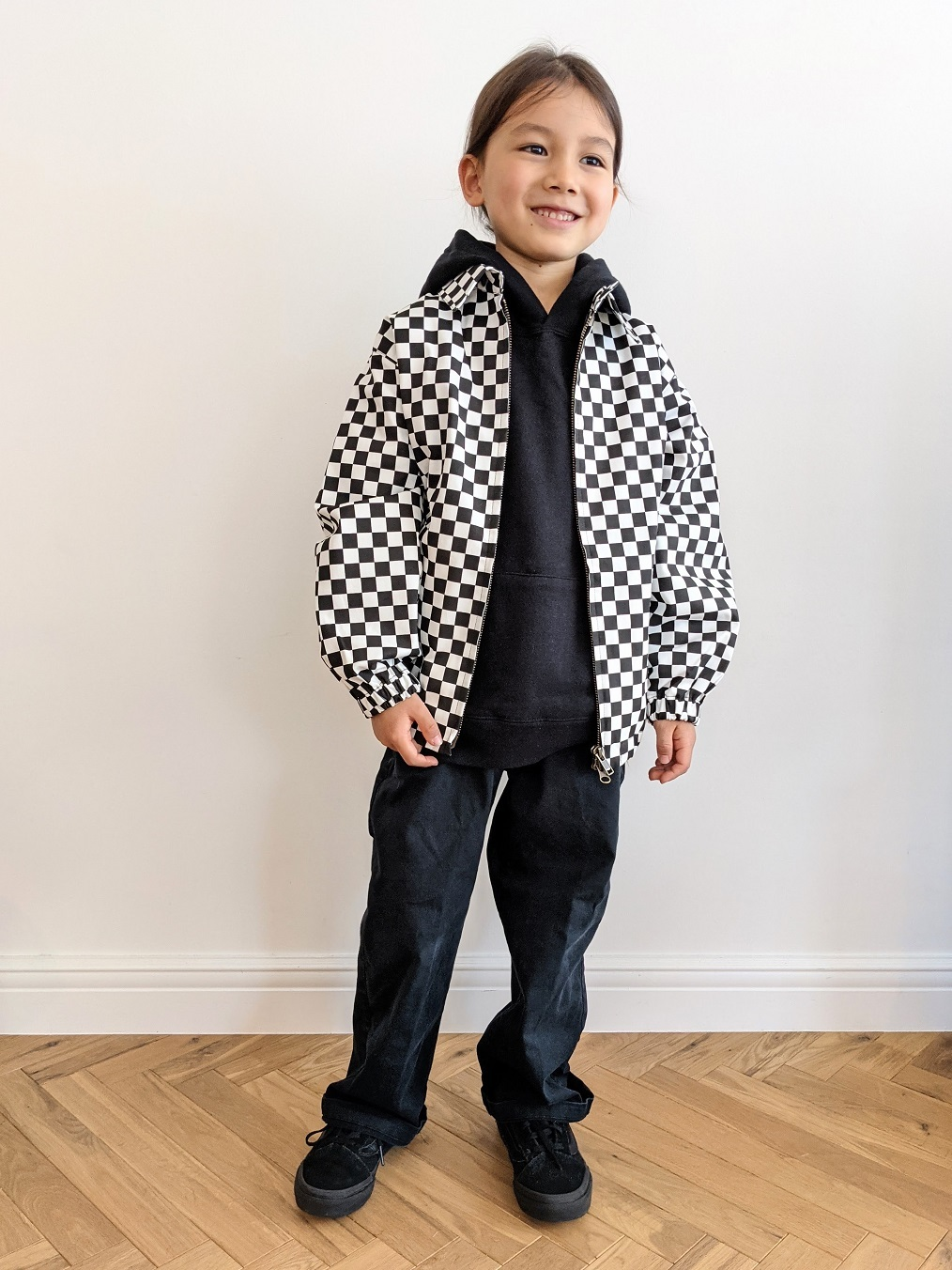 Kids Checkered Jacket