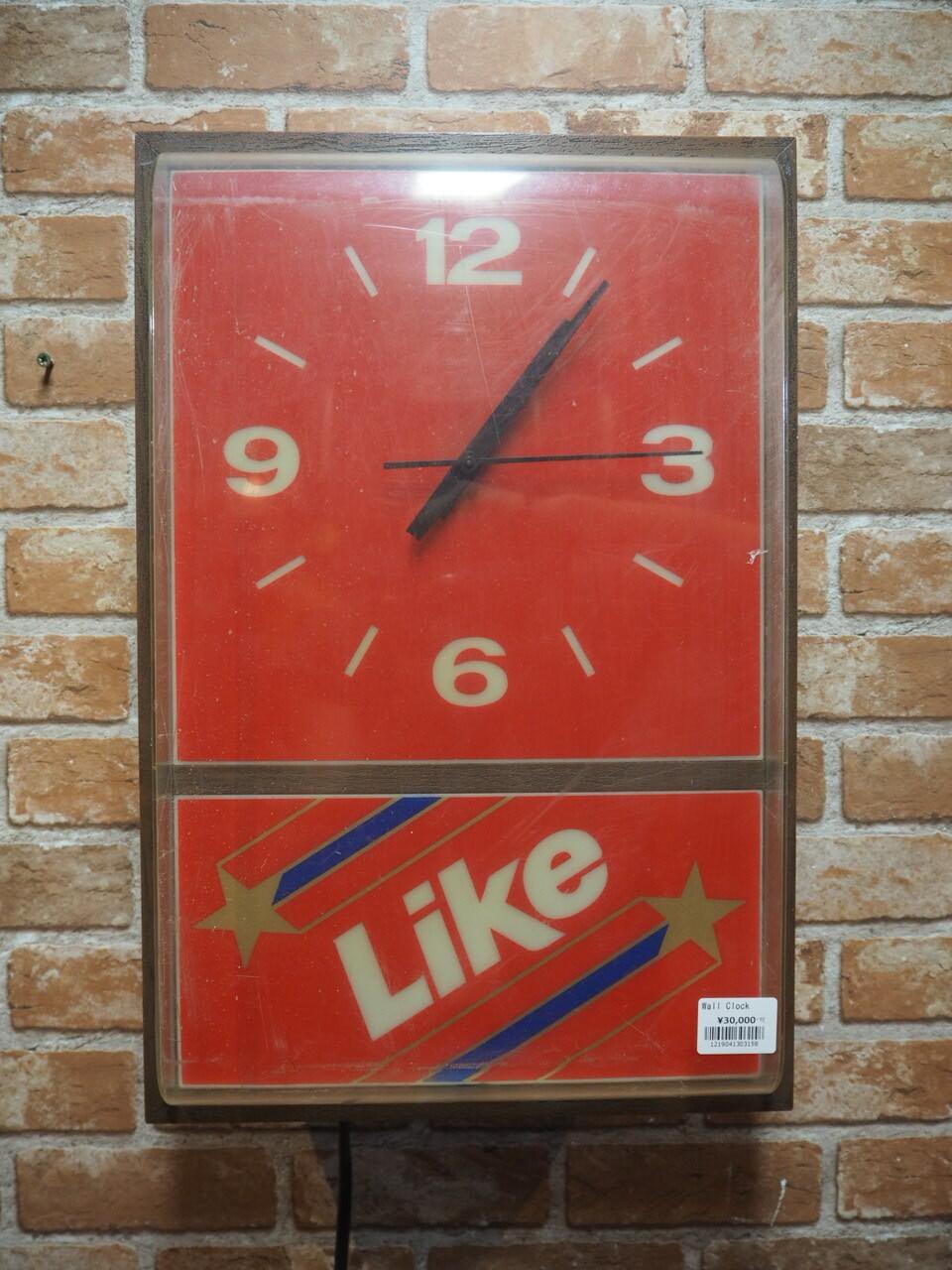 品番3158 壁掛け時計 / Wall Clock