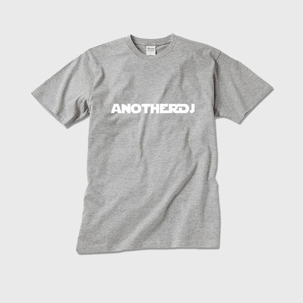 anotherDJ TシャツSサイズ グレー - 画像1
