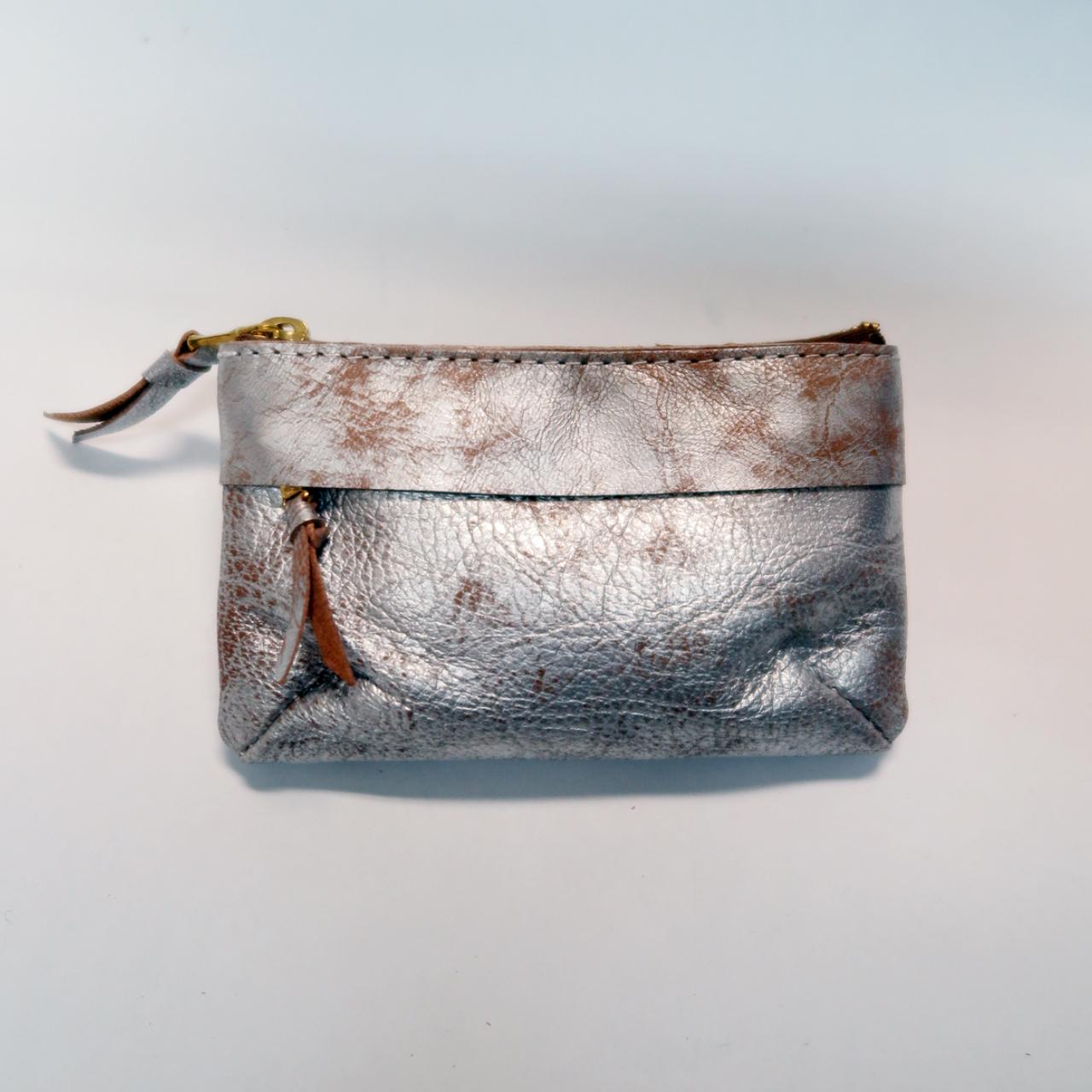 【saranam】zip coin purse wallet / 【サラナン】ジップ小銭入れ