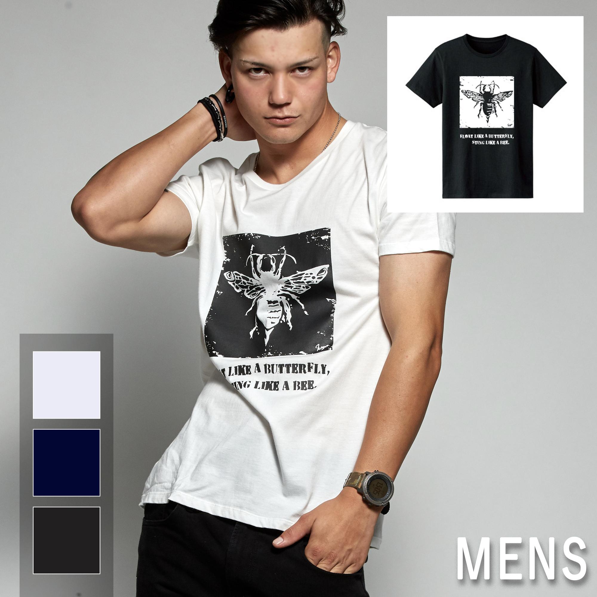 ハチ T-shirt(メンズ)