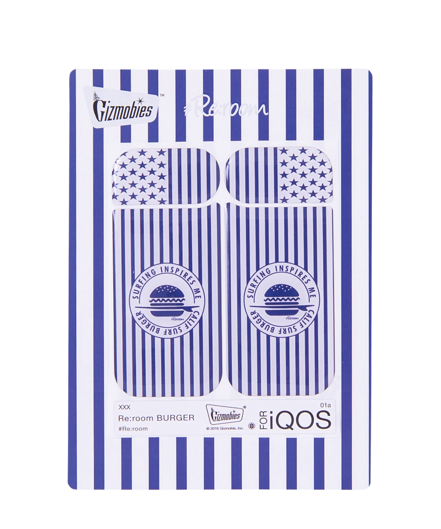 Re:room BURGER iQOS SEAL[REG055]