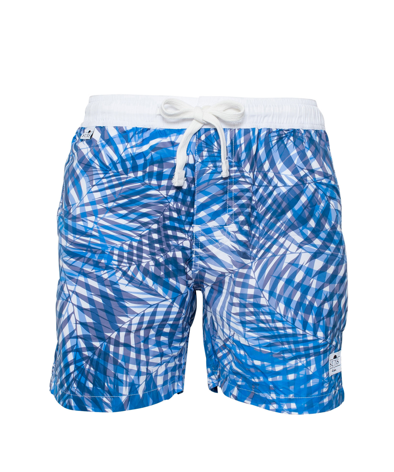 SUNS PARM TREE PATTERN PRINT SWIM SHORTS[RSW008]