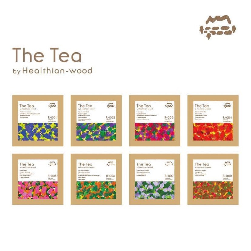 The Tea  R-001~008(お試しセット)