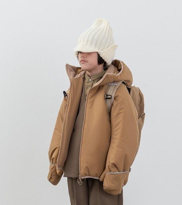 MOUN TEN. マウンテン air mitten blouson col.:beige size:125・140