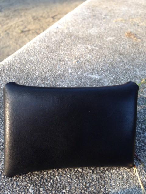 letter カードケース ヌメ革 フルタンニンなめし 黒