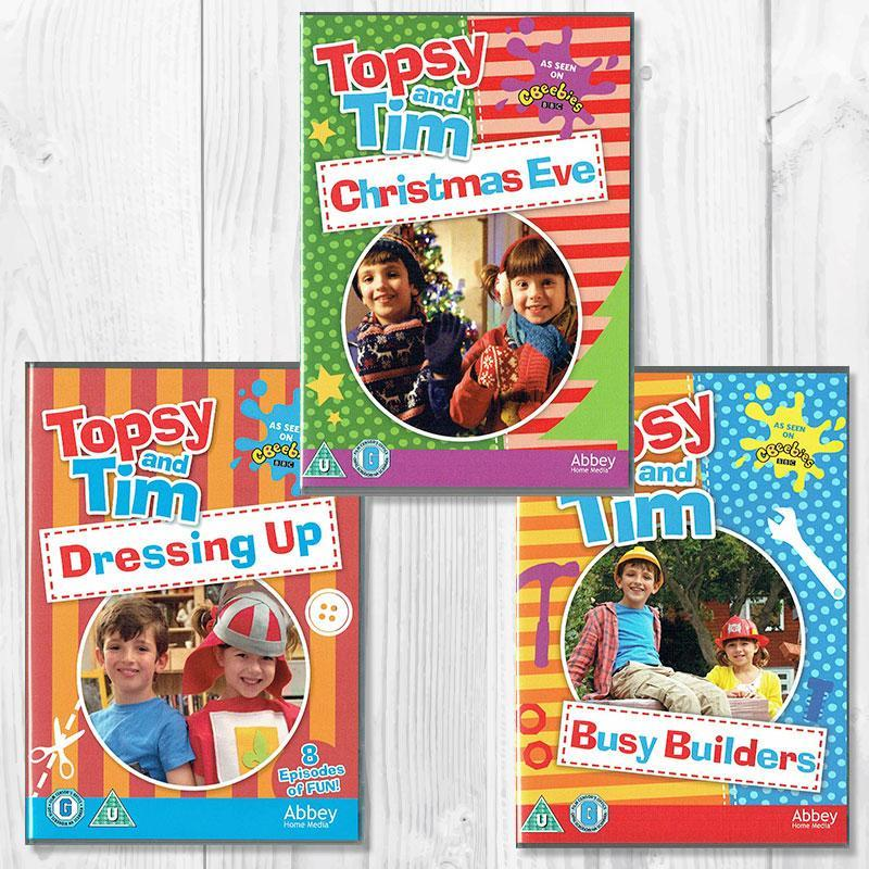 「Topsy and Tim」DVD3枚 Bセット