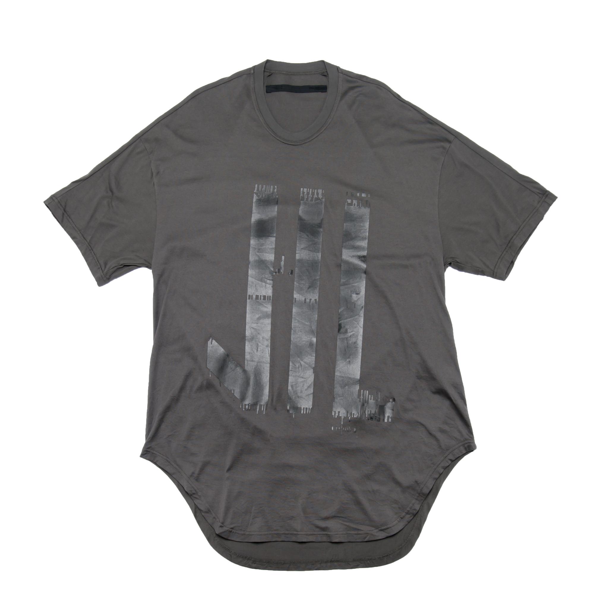 680CPM10-DARK GRAY / 家紋ラウンドTシャツ
