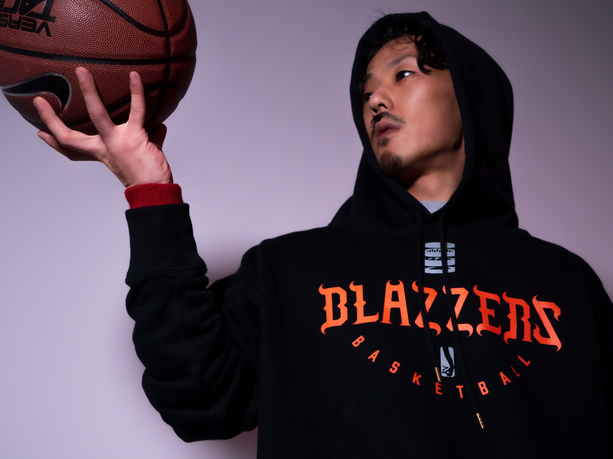 BLAZZERS HEAVY HOODIE -MADE IN JAPAN- [BLACK]
