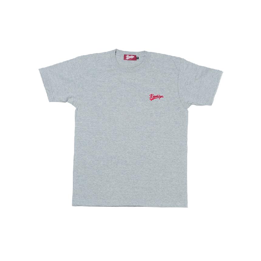 K'rooklyn Logo T-Shirt - Gray