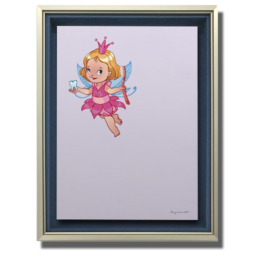 Fairy キャンバスプリント(B2サイズ)・立体額入り