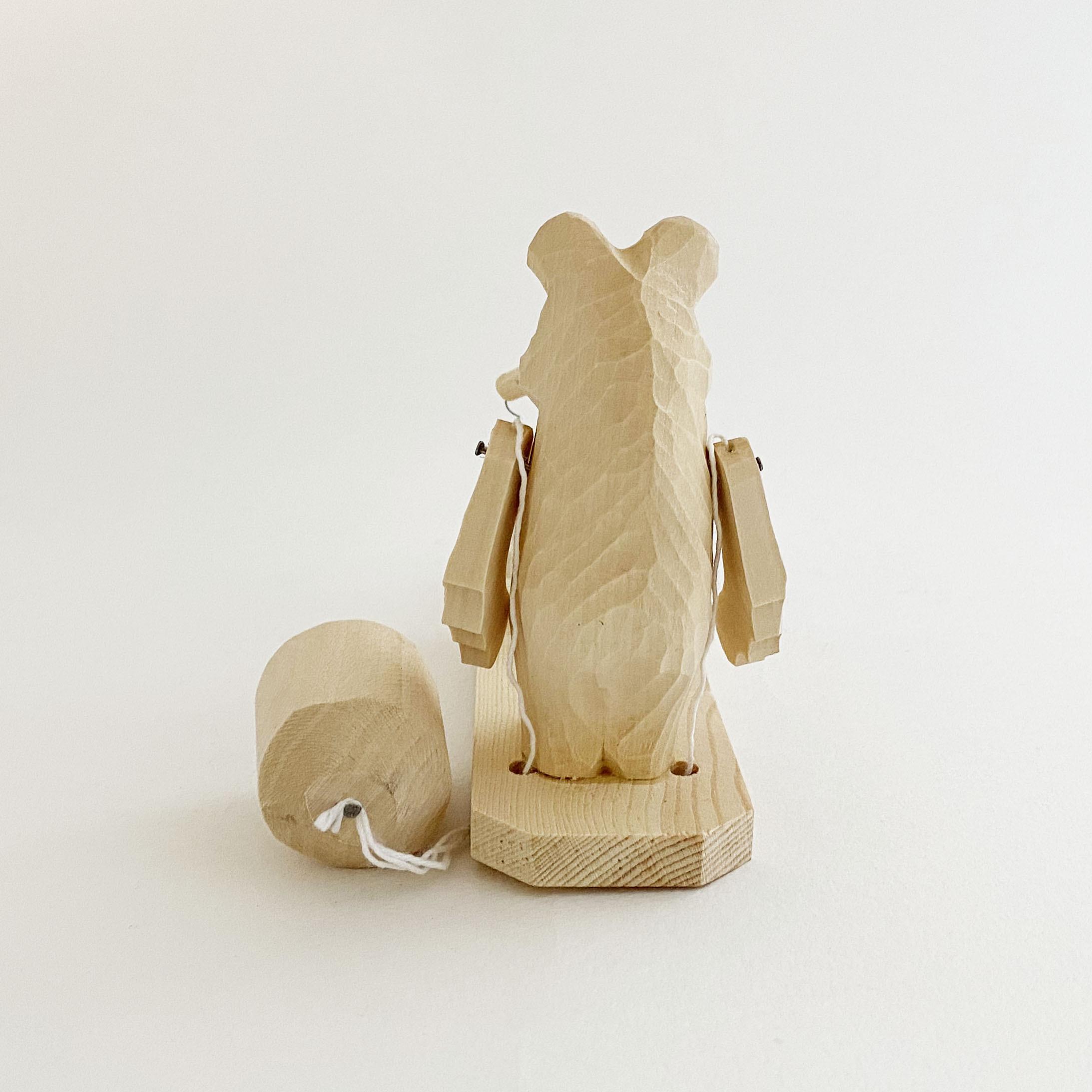 ボゴロツコエ木地玩具「クマの養蜂家」
