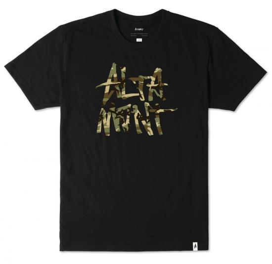 Altamont オルタモント NEW STACKED S/S TEE [BLK]