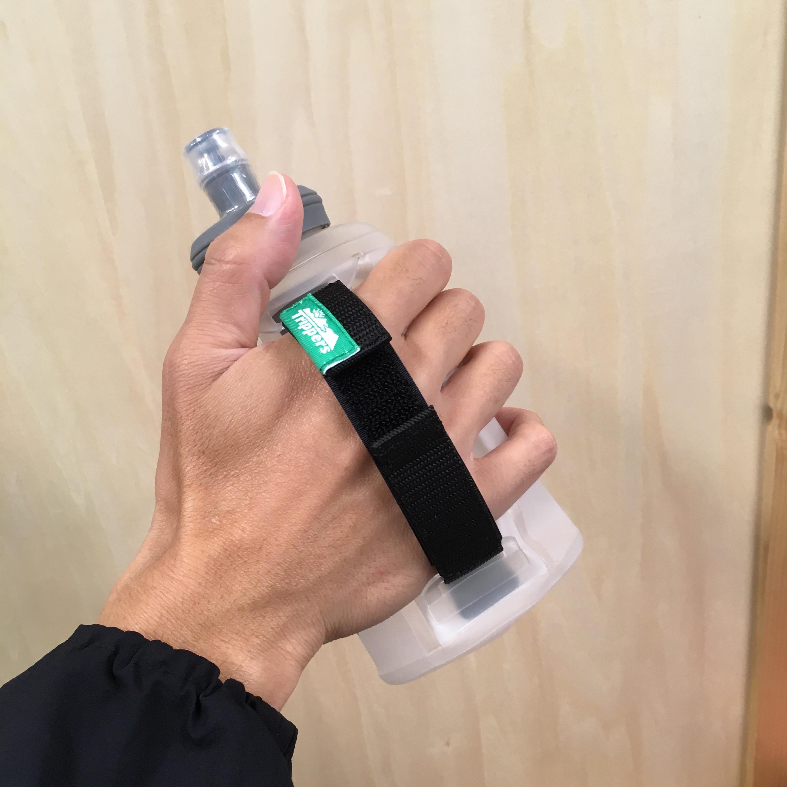 Trippersオリジナル  HAND BOTTLE BELT & FLASK セット